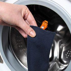 pince a chaussettes lavez sechez