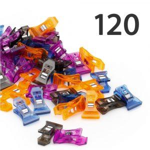 Lot de 120 pinces à chaussettes
